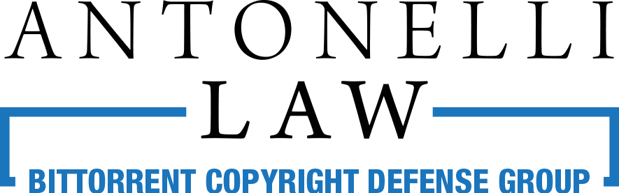 Antonelli Law Bittorrent Defense Logo.